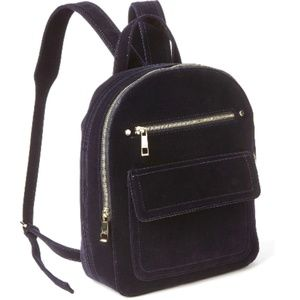 GAP | Navy Velvet Dome Backpack